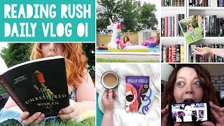 THE READING RUSH VLOGS 💜 Day 01