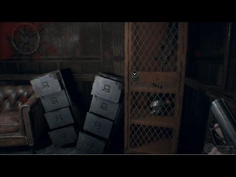 Resident Evil 7 - Find Captain's Cabin Locker Key, get machine gun