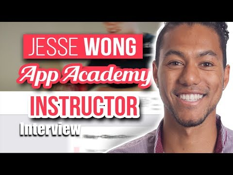 How to become a Software Engineer | App Academy Interview with Instructor Jesse Wong | Giveaway