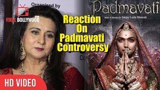 Poonam Dhillon Best Reaction On Padmavati Controversy | Padmavati | Deepika Padukone