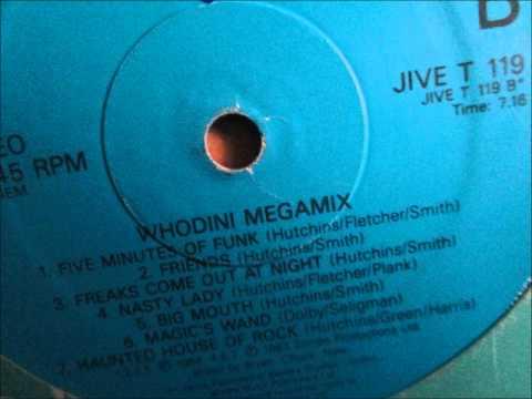 Whodini - Whodini Megamix 1986 (Hip hop/Rap)