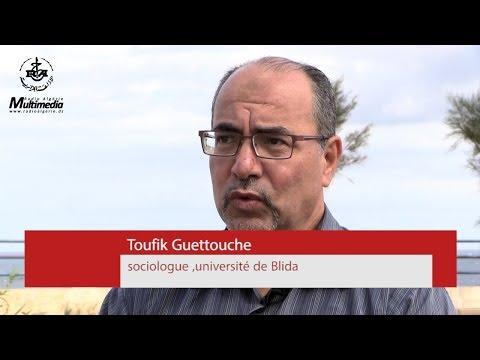 Toufik Guettouche sociologue et professeur à l'université de Blida