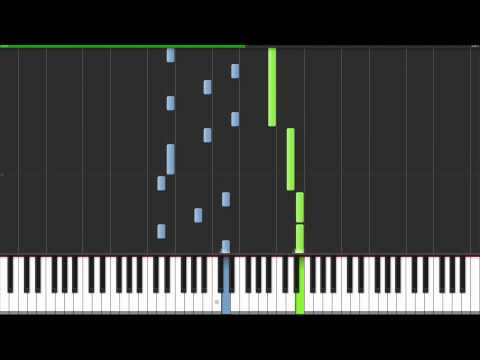 Alex Clare - Too Close Piano Tutorial & Midi Download