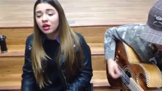 Siempre Te Voy A Querer - Calibre 50 (cover) Litzy Covarrubias