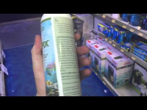 About Dosing API Algaefix To S Pond Or Aquarium