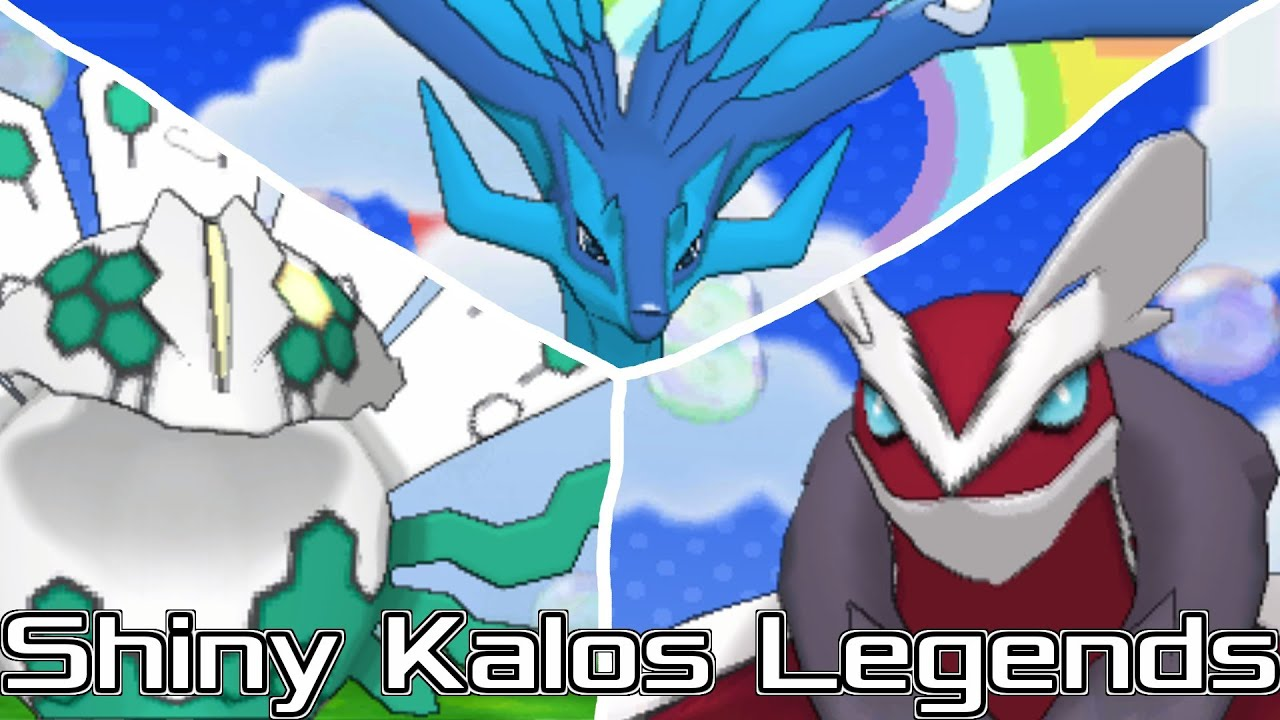 Shiny kalos legendaries youtube - Legendaire shiney ...