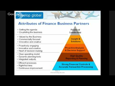 An Introduction To Finance Business Partnering