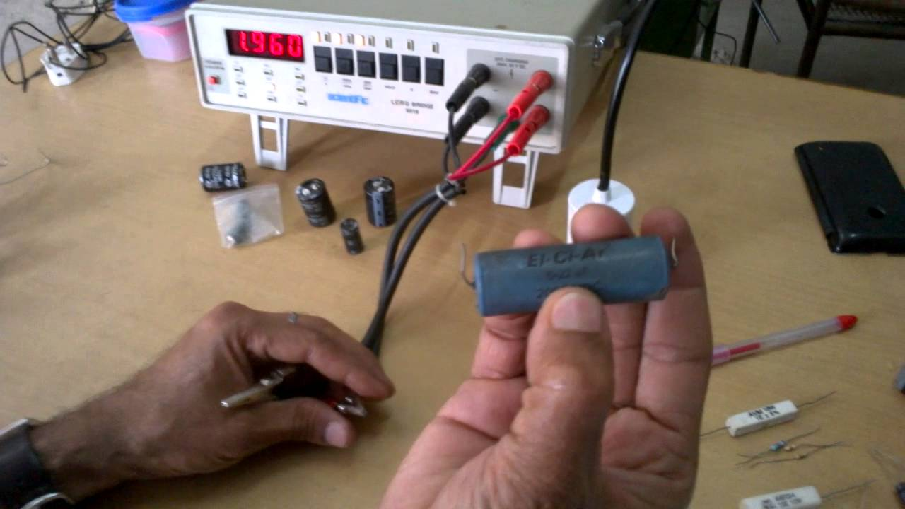 LCR Meter for measure inductor , capactor & resistance
