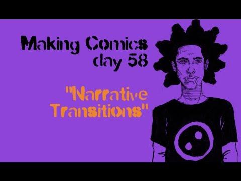 "Making Comics day 58 of 100 ""Narrative Transitions"""