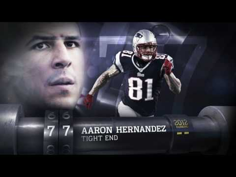 Aaron Hernandez Top 100 of 2013