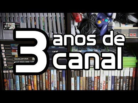 3 Anos de Canal - Minha Coleção de Games!
