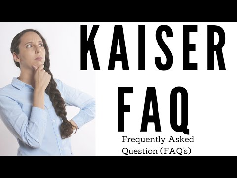 Ultimate Kaiser Health Builder - Frequently Asked Questions (FAQs)