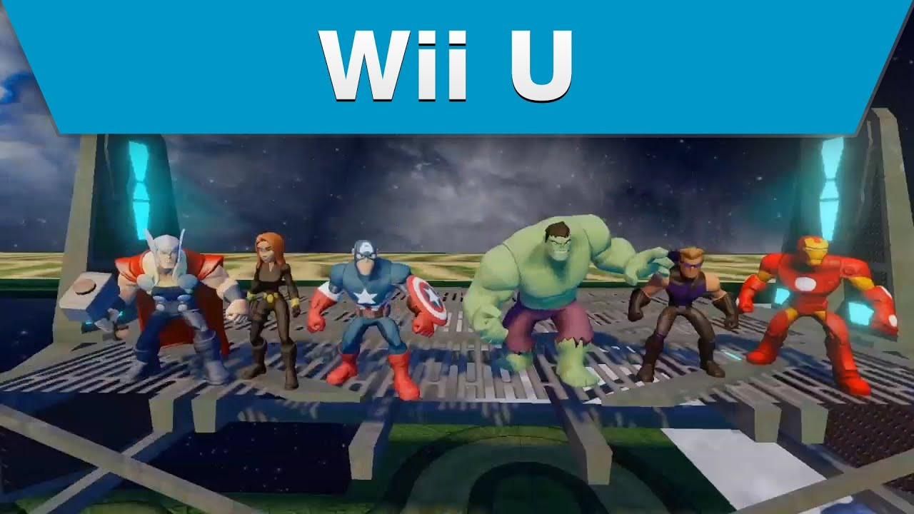 U With Wii Games 2 : Wii u disney infinity marvel super heroes edition