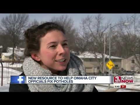 Omaha pothole repairs