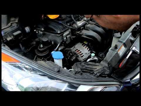 Hyundai Elantra 2013 Alternator And Serpentine Belt