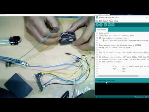 Membuat Sendiri Arduino dengan Atmega328p di project board