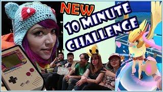 MY GAMEBOY COLLECTION + NEW 10 Min Challenge w/ POKEMON GO!
