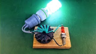 Free energy generator 9v dc to 220v ac electricity generator new 2019