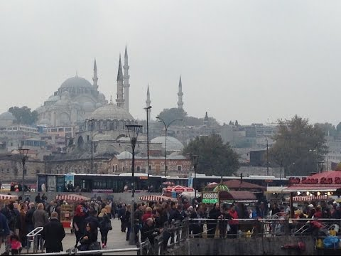 A few days in the streets of Istanbul ... November 2015 ...