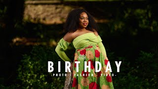 BIRTHDAY & FASHION PHOTO & VIDEO OUTDOOR SHOOT IN THE PARK