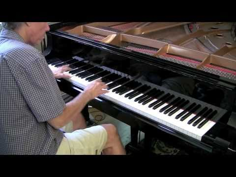Pachelbel's Canon in D solo piano improvisation #2 Mike Strickland video
