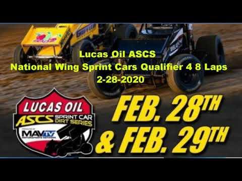 ASCs wing sprints qualifier 4 canyon speedway park 2-28-202ⁿ