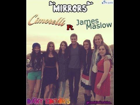 Mirrors - Cover by: Cimorelli Ft. James Maslow (lyrics)