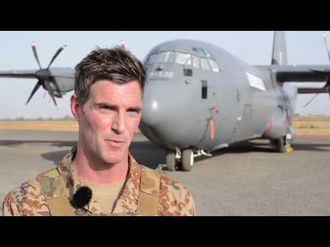 Specialtrænede Soldater Beskytter C-130 Bidraget I Mali