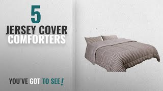 Top 10 Jersey Cover Comforters [2018]: Newpoint Luxury Natural 100-Percent Jersey Cotton Washable