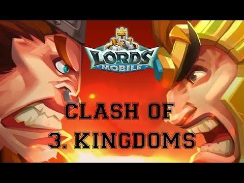 Clash Of 3 KINGDOMS - Lords Mobile 3/3/2018 FAIL KVK !!!!