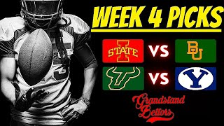 Top 3 College Football Picks - Week 4 | 🏈 College Football Free Picks | Football Predictions Today screenshot 4