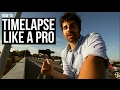 How To Shoot Timelapse Video