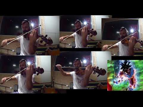 Dragon Ball Super - Ultra Instinct - Clash of the Gods - Violin Cover
