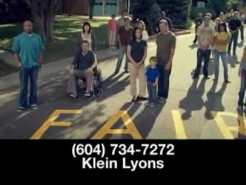 ICBC settlement claim? Get what's fair after your accident with the help of Klein Lyons.