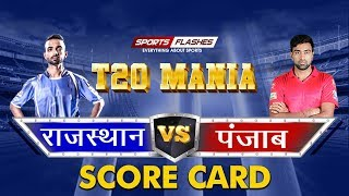 Live Rajasthan Vs Punjab T20 | Live Scores and Match Discussion | SportsFlashes