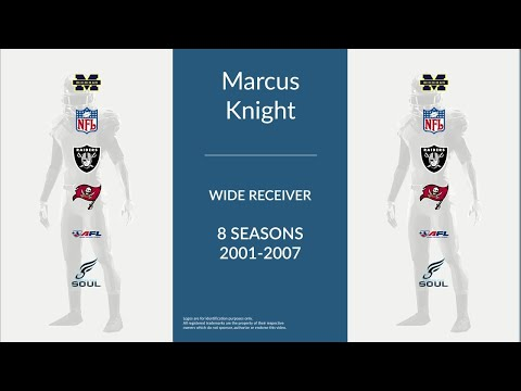 Marcus Knight: Football Wide Receiver