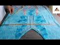 Kaftan dress cutting and stitching/diy