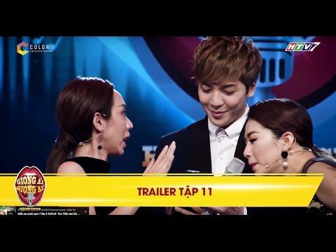 Giọng ải giọng ai   trailer tập 11: Thu Trang bất chấp lên sân khấu xin số soái ca Hàn Quốc