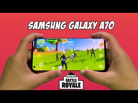 Samsung Galaxy A70 - Fortnite Mobile 60fps Unlocked Gameplay!