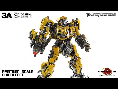 ThreeA Transformers: Dark of the Moon Bumblebee Video Review
