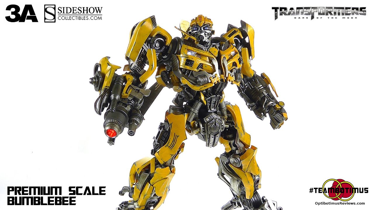 ThreeA Transformers: Dark of the Moon Bumblebee Video ...