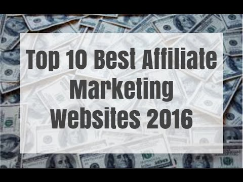 Top 10 Best Affiliate Marketing Websites 2016