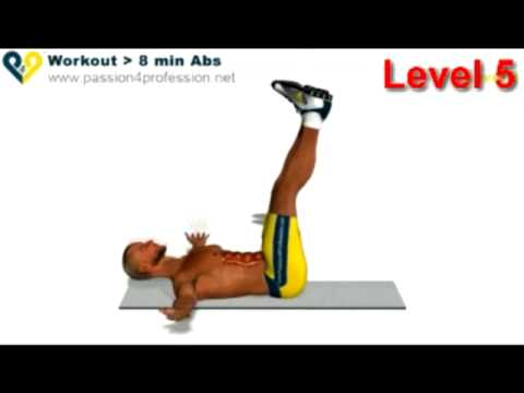 Abs workout how to have six pack – Level 5