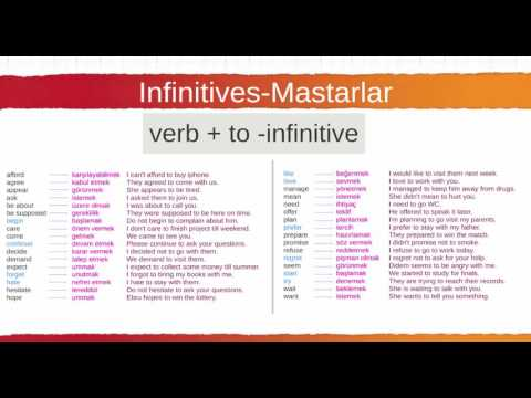 122 Infinitives Mastarlar 1 Thumb