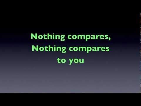 Nothing Compares 2 U - Capital Cities (lyrics on screen)HD