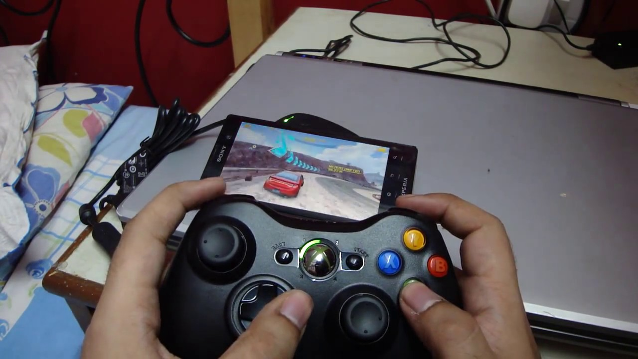 Download Xbox 360 wireless controller on Android phone
