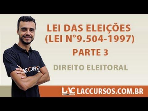 video aula de direito eleitoral lfg