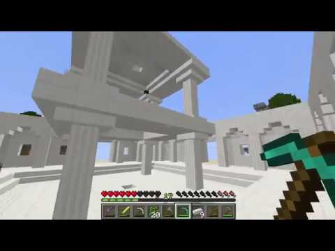 Minecraft Survival Haritası - Gökyüzü Adaları Bölüm 3