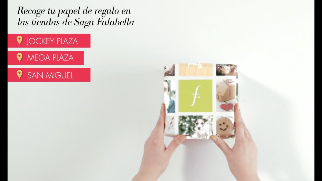 Personaliza tu papel de regalo youtube - Papeles de regalo ...