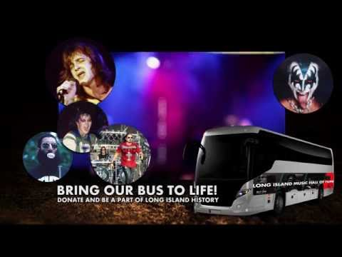 Long Island Music Hall of Fame Mobile Museum Tour Bus Campaign